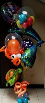 singing balloon delivery birthday balloon bouquet today deliver pro fishing balloon