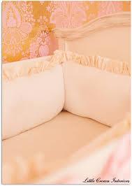 Silk Crib Bedding Set Glamour U0026 Old Hollywood Baby Nursery Gold Nursery Nursery And