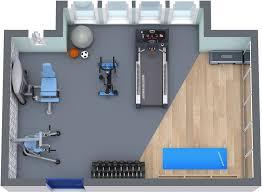 How To Design A Basement Floor Plan Roomsketcher Home Gym Floor Plan Home Gym Pinterest Gym