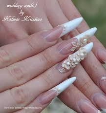 uñas acrílicas para bodas uñas pinterest french nails