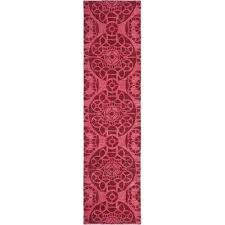 Pink Runner Rug Runner 1 2 Pink Area Rugs Rugs The Home Depot