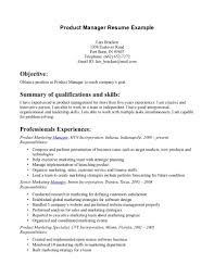 product management resume samples free printable job objective