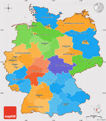 Simple World Map Political Simple Map Of Germany Cropped Outside