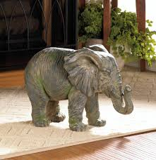 Home Decor Figurines African Elephant Decor Thai Elephant Home Decor Iron