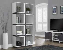 white bookcase 10 white bookcases that could double as room dividers my small