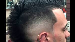 mohican hairstyles for men 2017 mohawk hairstyles for men youtube