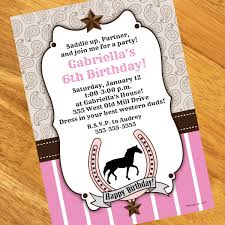 horse party invitations plumegiant com