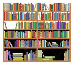 bookshelf library clipart explore pictures