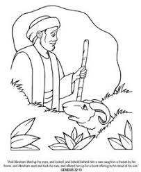 abraham and isaac coloring page abraham and sarah with isaac adventurer summer crafts