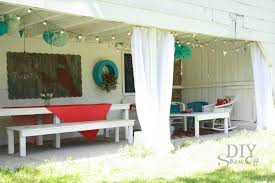 Covered Patio Pictures Covered Patio Transformationdiy Show Off U2013 Diy Decorating And