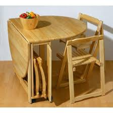 Small Wooden Folding Table Stylish Folding Dining Table And Chairs With Folding
