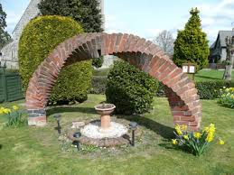 12 invention ideas how to use bricks for garden perfection