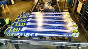 cheap led shop lights led shop light fixture s led shop light fixtures home depot dulaccc me