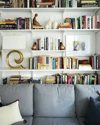 bookcase white bookshelf for living room freestanding bookcase