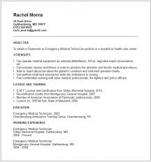 Paramedic Resume Examples by Patient Care Technician Resume With No Experience U2013 Resume Examples