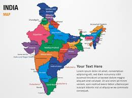 india map ppt template 28 images india map blank templates