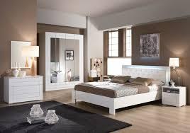 chambre a coucher meubles chambre à coucher laqué blanc alaska design moderne chic