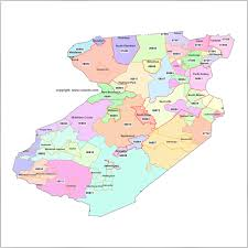 Map Zip Codes by Middlesex County Nj Zip Code Boundary Map