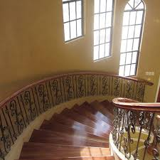 Wrought Iron And Wood Banisters Double Basket Baluster L Wrought Iron Balusters L Iron Railings L