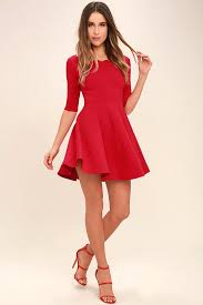 5 red valentines day dresses under 55 invibed