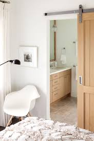we love this sliding bathroom door western living