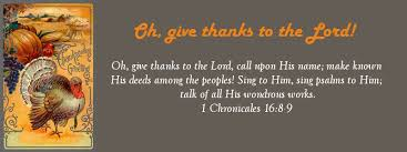 give thanks to the lord for he is the daniel fast