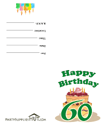 free printable 60th birthday cards happy holiday season greetings