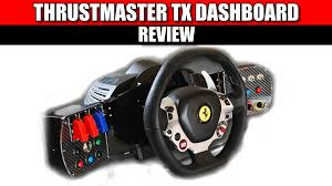 thrustmaster 458 review thrustmaster tx dashboard review simracing hardware