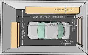 single car garage one garaze measurements building plans online