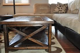 farmhouse style coffee table ana white farmhouse style rustic x coffee table diy projects