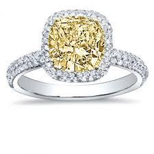 yellow engagement rings yellow diamond engagement rings