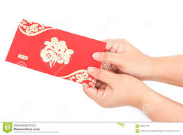 pocket new year pocket and lucky money on new year stock photo image
