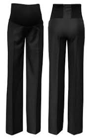 maternity work trousers zeta ville women s maternity smart tailored work trousers