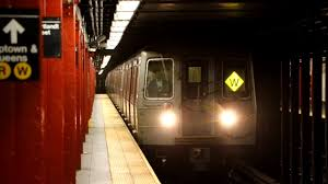 light rail w line mta new york city subway cortlandt street r w lines bmt