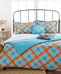 Comforter Orange Bohemian Comforter Bedding Set Orange Bedding Bright Orange