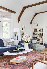 English Tudor Style House Our Modern English Tudor Living Room Emily Henderson