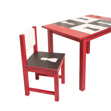 play table and chairs chess play table and 2 chair set la vie orange