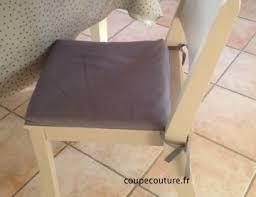 galette de siege coupe couture housse amovible pour galette de chaise