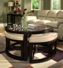 Table With Sofa Coffee Tables With Seating Underneath Foter