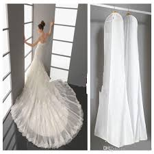 wedding dress garment bag 2016 wedding dress bags white dust bag travel storage dust covers