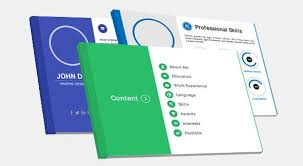 Powerpoint Resume Template Professional Infographic Resume Templates