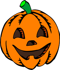 pumpkin clipart fall on happy halloween scarecrows and clip art 3
