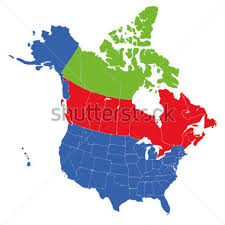 map of united states canada canada and usa map clipart 2198747