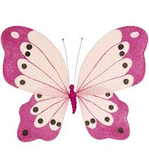 pink glitter butterfly 4 sizes largest 100cm