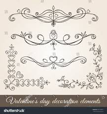 Valentine S Day Decor Sale by Valentines Day Hand Drawn Decoration Set Stock Vector 361527851