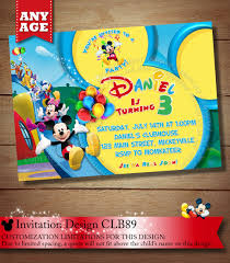 mickey mouse clubhouse birthday invites you choose mickey mouse birthday invitation clubhouse mickey