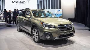 subaru outback interior 2017 2018 subaru outback brings well thought out facelift to new york