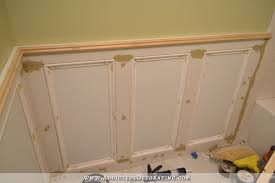 recessed panel wainscoting with tile accent u2013 part 1