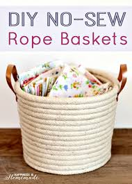 baskets for home decor 20 amazing diy home decor ideas with rope