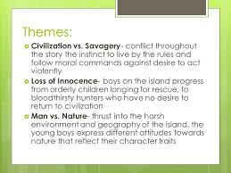 lord of the flies themes and messages lord of the flies william golding explain the title the reason